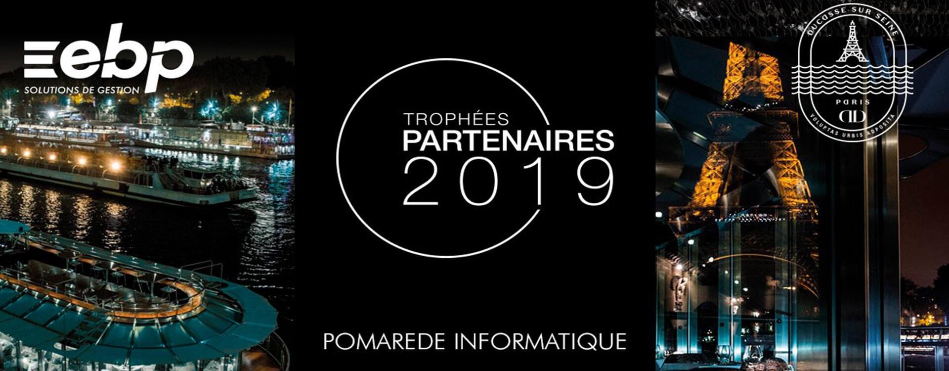 Pomarède Informatique - Trophées partenaires EBP 2019